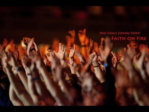 Faith On Fire - Daniel George (Original) Lyric Video - A Christian song of Faith.