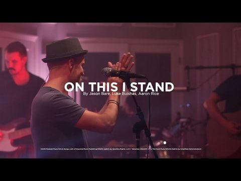 "Jason Bare ""On This I Stand"" - Lyric Video"