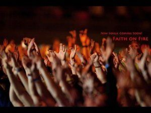 Faith On Fire - Daniel George (Original) Lyric Video - A Christian song of Faith.