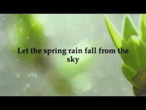 Spring Rain – Lyric Video (Ben David Trigg)